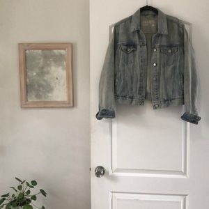 100% cotton denim jacket